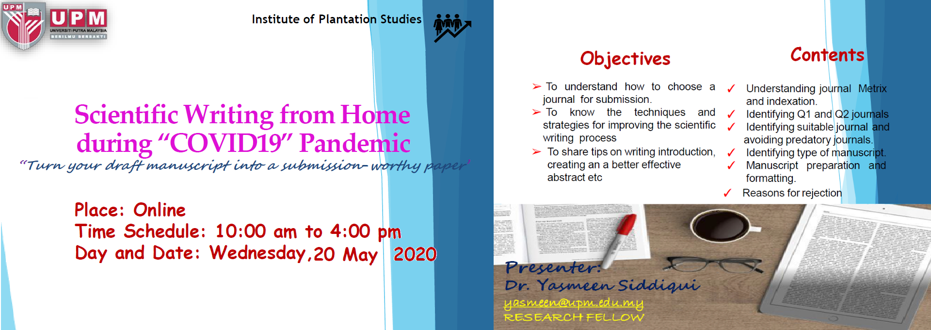 Scientific Writing from Home during 'COVID19' Pandemic