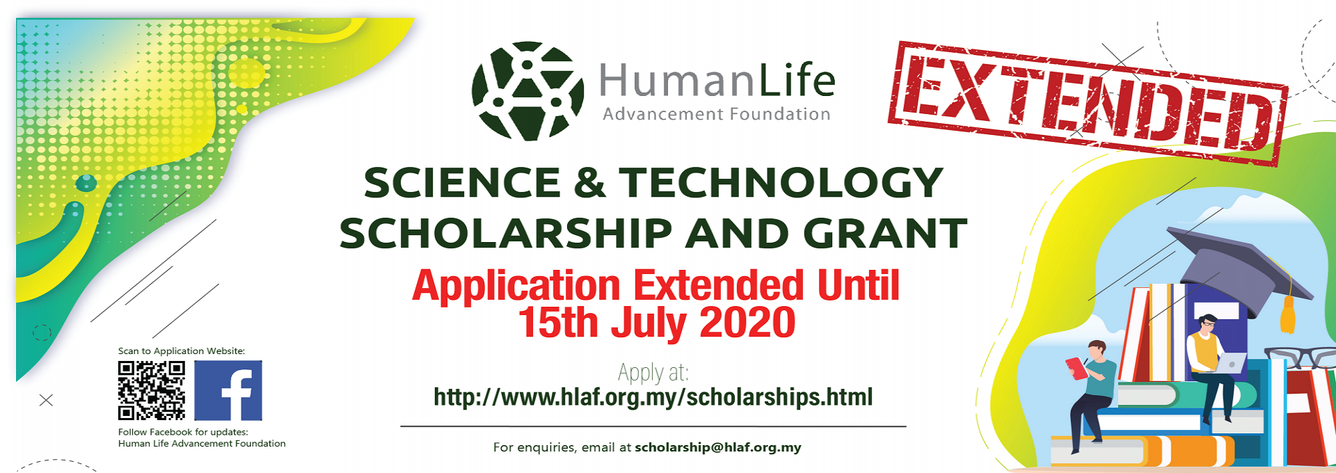 Human Life Advancement Foundation (HLAF) Scholarship For Year 2020 Batch 12 : Open for Application